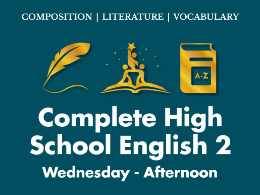 Complete High School English 2 | Wednesday Afternoon ET