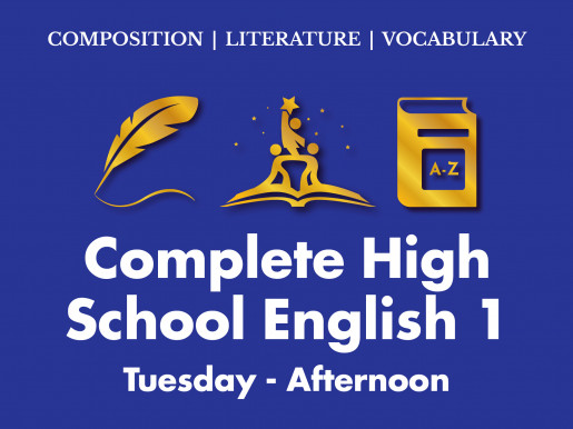 Complete High School English 1 | Tuesday Afternoon ET