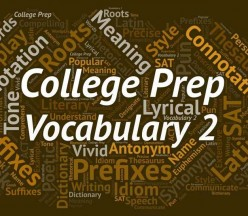 V2 - College Prep Vocabulary 2
