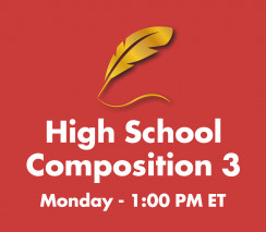 High School Composition 3 | Monday 1:00pm ET  - Week B