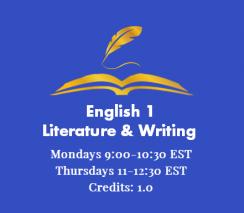 English 1 - Writing & Literature